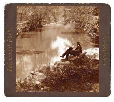 On the Wissahickon, 1876